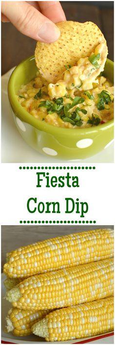 Gluten Free Fiesta Corn Dip - Little Dairy On the Prairie