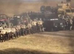 Police departments around the country are sending reinforcements to North Dakota to support mining companies.