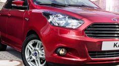 Ford KA+ headlamps and wheel