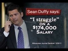 """""""Sitting Pretty"""" from House Majority PAC opposes Rep. Sean Duffy in Wisconsin's 7th District. 9/12/12"""