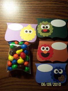 Sesame Street goody bags