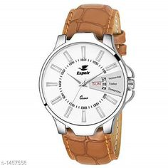 Watches Trendy Analog Men's Watch Material: Leather  Size : Free Size Type: Analog Description: It Has 1 Piece Of  Men's Watch Country of Origin: India Sizes Available: Free Size   Catalog Rating: ★4.1 (643)  Catalog Name: Espoir Men's Casual Analog Watches CatalogID_189122 C65-SC1232 Code: 812-1457556-024
