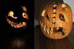 """Scaredy-Face"" pumpkin by Soundar B., Charlottesville, VA"