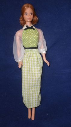Quick Curl Kelly/Kelley Vintage Mod Barbie in orig. dress 1973 Steffie face