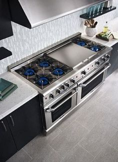 The perfect cooking area for the man or lady of the house!