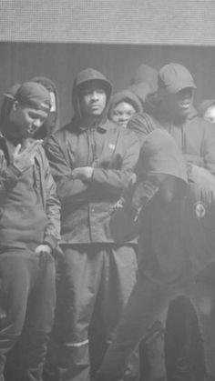 da667e75946 Skepta x Kanye West. UK artist Skepta is known to shutdown the stage.  Member of the Boy Better Know crew (BBK)