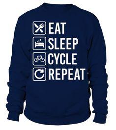 Cycling Eat Sleep Repeat