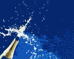 Champagne for celebration is a free power point template that we have designed for celebration purposes