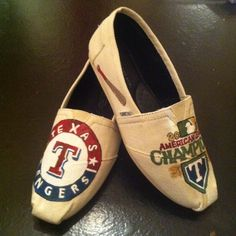 Toms I painted for my daughter