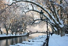 The Lovers Bridge, Annecy, France