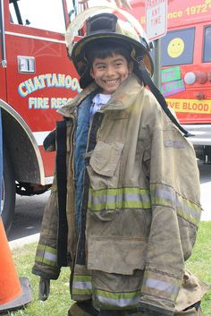So cute - learning fire safety #lapazchatt