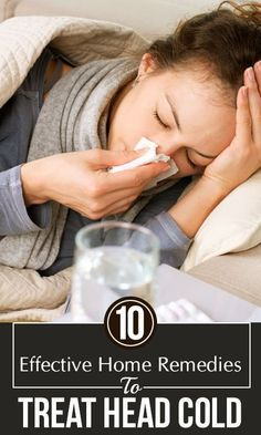 How many times have you had cold and couldn't do much about it? Unlike the common cold, a head cold lasts longer. Check out these effective home remedies to treat it Head Cold Remedies, Natural Sleep Remedies, Cold Home Remedies, Cough Remedies, Natural Cures, Herbal Remedies, Health Remedies, Homemade Cold Remedies, Home Remedy For Cough