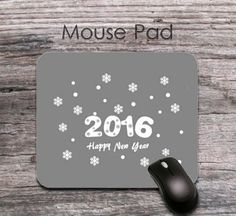 designer spring 2016 new year quotes mouse pad - designer 2016 new year wishes mouse mat - office decor