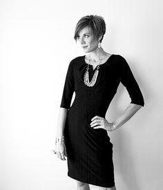 #BrassyApple: #WhatIwore #littleblackdress #mikarose