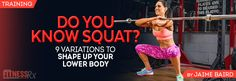 The Ultimate Squat Guide! Perfect your form and get the most out of this basic exercise.