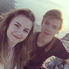 Ava sangster and Thomas sangster #siblings