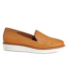 Look at this Tan Summer Time Loafer on #zulily today!