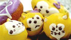 悲喜こもごもの表情を浮かべるラスカルをパクリ食べる「ハロウィンラスカルドーナツ」全5種類2015