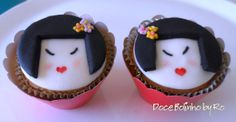 Cupcake Kokeshi