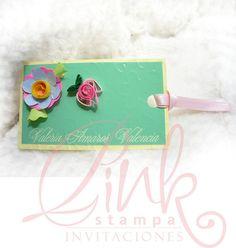 tarjetas personales by Stampa Pink Veracruz, via Flickr