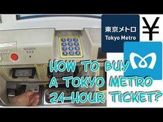 (15) Tokyo Metro 24-Hour Ticket 🎫 - YouTube