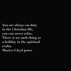 Martyn Lloyd Jones quote