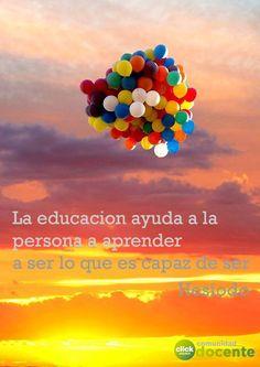 Una reflexión para la #educacion