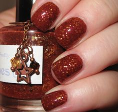 So Very Pretty glitter nail polish 15 mL .5 oz by TheLadyVarnishes, $9.00 This color is so perfect!