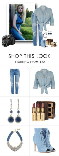 """""""Photo Shoot"""" by swervin35 ❤ liked on Polyvore featuring Nikon, Ted Baker, ZAK, Nine West, Bobbi Brown Cosmetics, BaubleBar, Gianvito Rossi and Lancôme"""