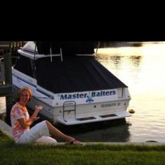 Best boat name ever! Clever Boat Names, Funny Boat Names, Boat Humor, Ship Names, Float Your Boat, Cool Boats, Motor Yacht, Lake Life, Fishing Boats