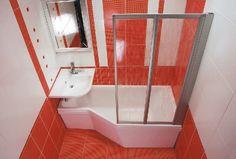 Image result for mala koupelna Corner Bathtub, Small Spaces, Interior Design, Bathroom, Image, Nest Design, Washroom, Home Interior Design, Interior Designing