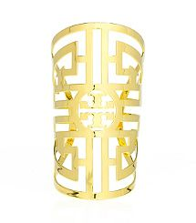LABYRINTH CUFF - Tory Burch $206  These are my initials!!