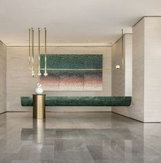 hotel reception Hotels are magical places. Get ins - hotel Hotel Reception Desk, Reception Desk Design, Lobby Reception, Reception Counter, Reception Areas, Modern Reception Desk, Plan Hotel, Interior Design Living Room, Interior Decorating