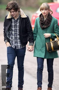 i like her outfit...i don't like her with harry....