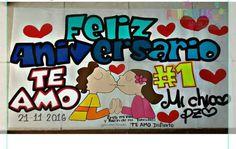 Diy Birthday, Birthday Gifts, Billboard, Baby Names, Ideas Para, Valentines, Memes, Crafts, Anniversary Banner