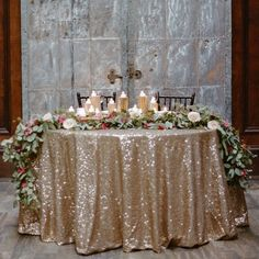 Forks&Brides; — Glitter galore ! Perfect for a Xmas wedding ! Who...
