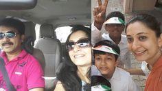 Deivamagal Serial Actress Thilaga - Actress  Sindhu Shyam Family and Fri...