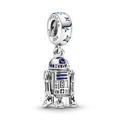 Verschöner dein Pandora Armband mit deine Lieblingsfiguren von Star Wars Charms Pandora, Pandora Bracelets, Pandora Jewelry, Charm Bracelets, Bijoux Star Wars, Star Wars Jewelry, Pandora Collection, Star Wars Collection, Star Wars Droid