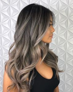 Best Picture For ash blonde balayage guy tang For Your Taste You are looking for something, and it i Silver Blonde Hair, Balayage Hair Blonde, Balayage Hair Ash, Ombre Hair, Dark Brown To Blonde Balayage, Dark Ash Brown Hair, Red Hair, Black Hair, Honey Balayage