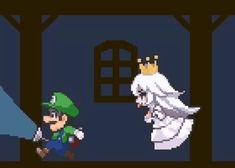 The perfect Boo Mario Luigi Animated GIF for your conversation. Discover and Share the best GIFs on Tenor. Show By Rock Cyan, Show By Rock Anime, Super Mario Kunst, Super Mario Art, Mario Und Luigi, Mario Bros, Mario Brothers, Anime Ai, Anime Chibi