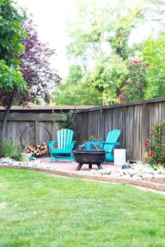 DIY Backyard Patio | Lovely Indeed