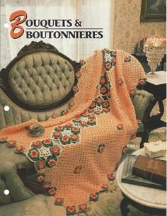 Bouquets & Boutonnieres Afghan Pattern   by KnitKnacksCreations