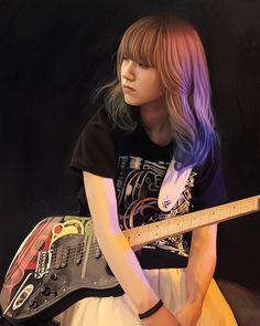 Bass, Scandal Japanese Band, Mami Sasazaki, Guitar Girl, Rock Chic, Girl Bands, Music Artists, Rock Bands, Asian Girl