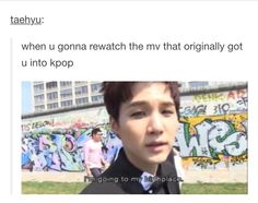 My first Kpop video was Midnight by Beast<--Mines was Dope by BTS<<Mine was Fantastic Baby by BIGBANG