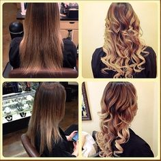 Add volume and length instantly with tape in hair extensions. No tools, no damage, just great hair. www.glamseamless.com