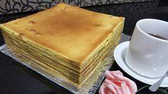 Durian Layer Cake (lapis legit durian) Homemade