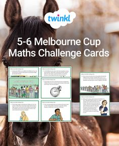 Use this set of maths challenge cards to support your Year students learn about the Melbourne Cup while exploring open ended maths questions. Just one of our fantastic selection of educational Melbourne Cup teaching resources, classroom activities & games Math Challenge, Challenge Cards, Math Questions, Comprehension Activities, Melbourne Cup, Classroom Displays, Activity Games, Classroom Activities, Student Learning