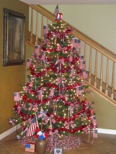 4th of July Tree 2010