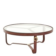 Cane Coffee Table Round Tommy Bahama