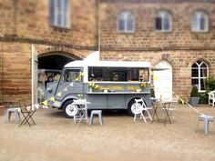 Cobble Kitchen H van, serving fresh homemade food and great coffee in Yorkshire!